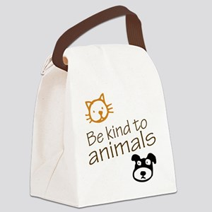 be kind2 Canvas Lunch Bag