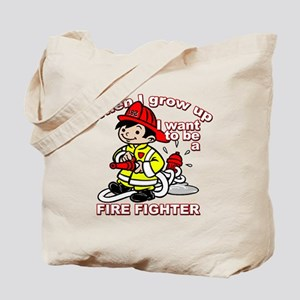 2-firefighter_CP Tote Bag