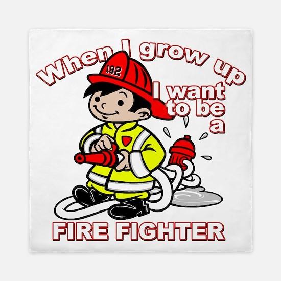 2-firefighter_CP Queen Duvet