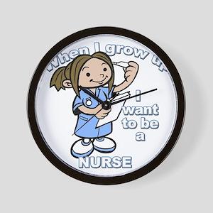 nurse_CP Wall Clock