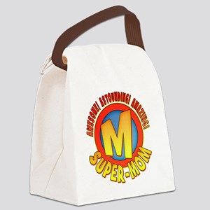 SuperMom2010 Canvas Lunch Bag