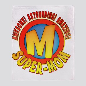 SuperMom2010 Throw Blanket