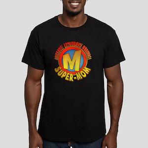 SuperMom2010 Men's Fitted T-Shirt (dark)