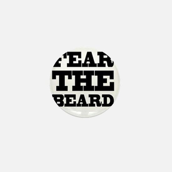 Fear The Beard Mini Button