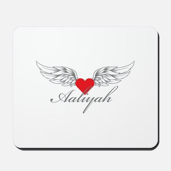 Angel Wings Aaliyah Mousepad
