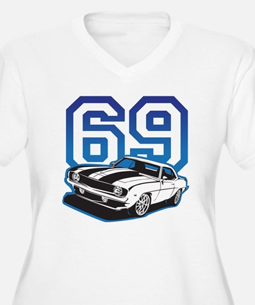 blue 69 camaro T-Shirt
