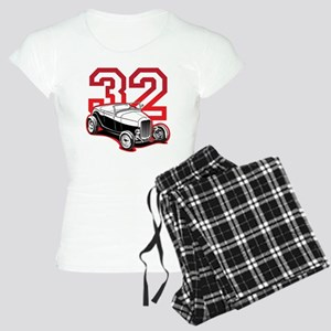 red 32 ford Women's Light Pajamas