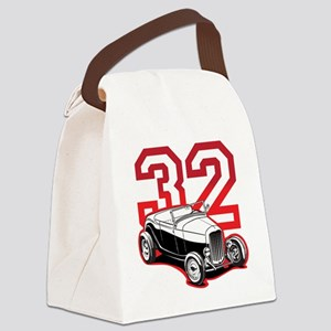 red 32 ford Canvas Lunch Bag