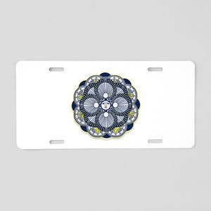 Mystik Aluminum License Plate