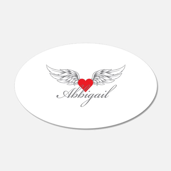 Angel Wings Abbigail Wall Decal