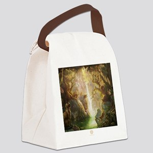 cat_fantasy Canvas Lunch Bag