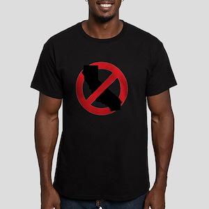 ANTI-CALI Men's Fitted T-Shirt (dark)