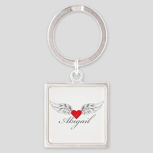 Angel Wings Abigail Keychains