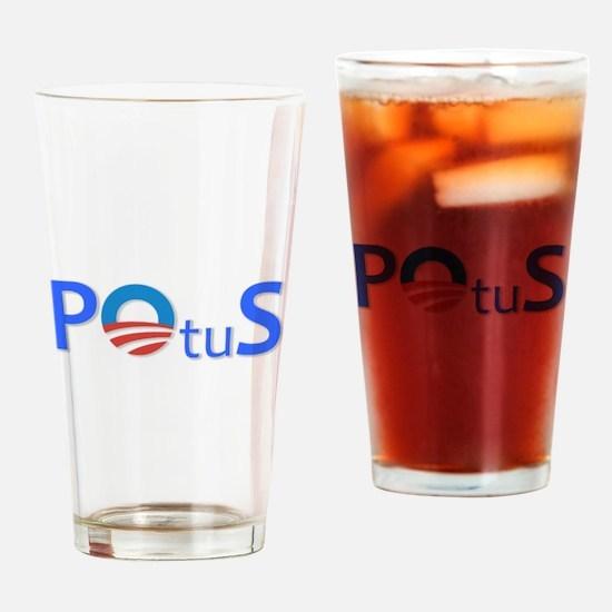 POtuS Drinking Glass
