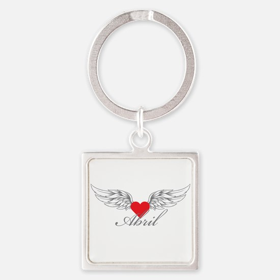 Angel Wings Abril Keychains