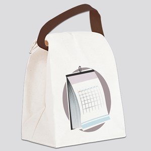 Planner Canvas Lunch Bag