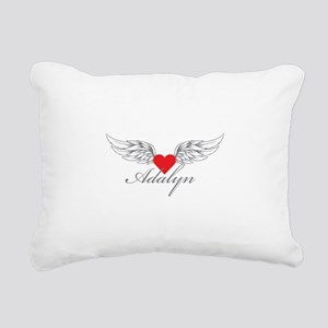 Angel Wings Adalyn Rectangular Canvas Pillow