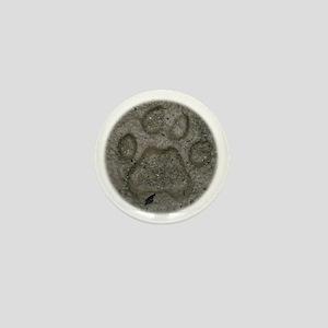 bobcattrackpillow Mini Button