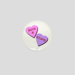 Boys R Stupid Mini Button