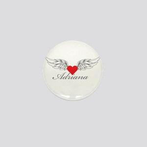 Angel Wings Adriana Mini Button