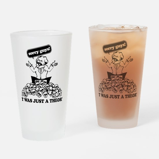 Karl Marx Clear copy Drinking Glass