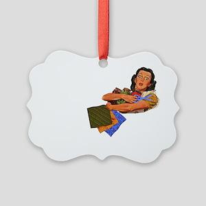 rumor-blk Picture Ornament