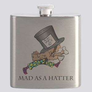 Mad-Hatter Flask