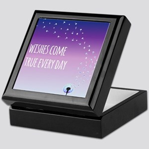 Wishes come true everyday Keepsake Box
