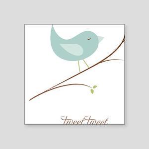 "3-sigg-tweet-sm Square Sticker 3"" x 3"""