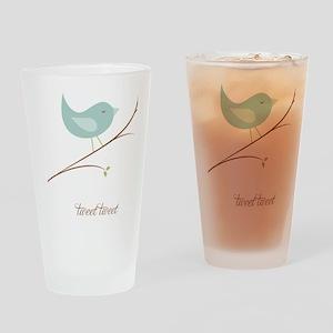 3-sigg-tweet-sm Drinking Glass