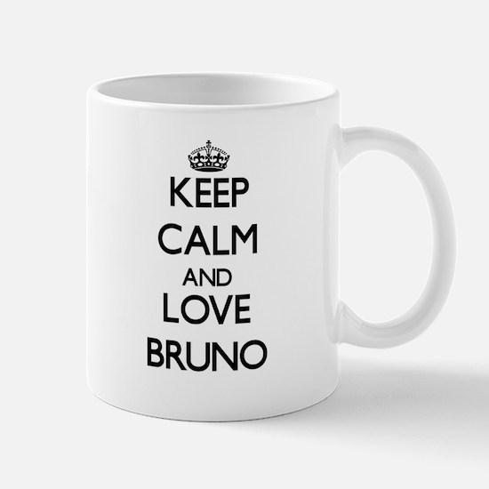 Keep Calm and Love Bruno Mugs