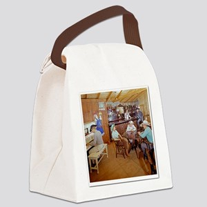 White Trash Canvas Lunch Bag