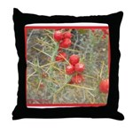 Cactus Country Holiday Throw Pillow