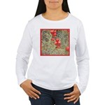 Cactus Country Holiday Women's Long Sleeve T-Shirt