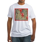 Cactus Country Holiday Fitted T-Shirt