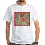 Cactus Country Holiday White T-Shirt