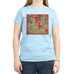 Cactus Country Holiday Women's Pink T-Shirt