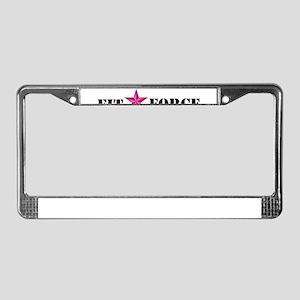 2-Logo License Plate Frame