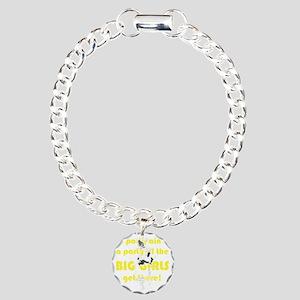 2-big girl party 2xy edi Charm Bracelet, One Charm