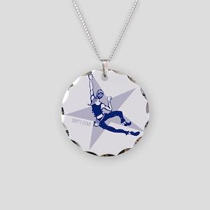 womanBoulder Necklace Circle Charm