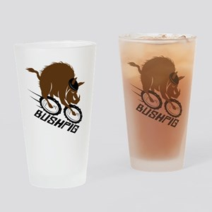 bushpig Drinking Glass