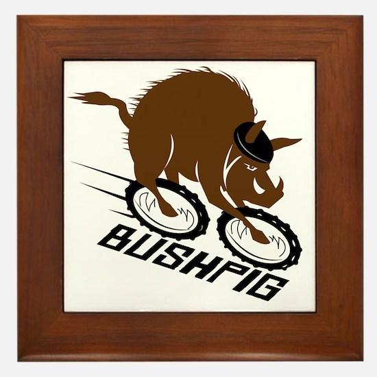 bushpig Framed Tile