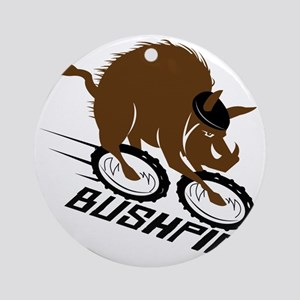 bushpig Round Ornament