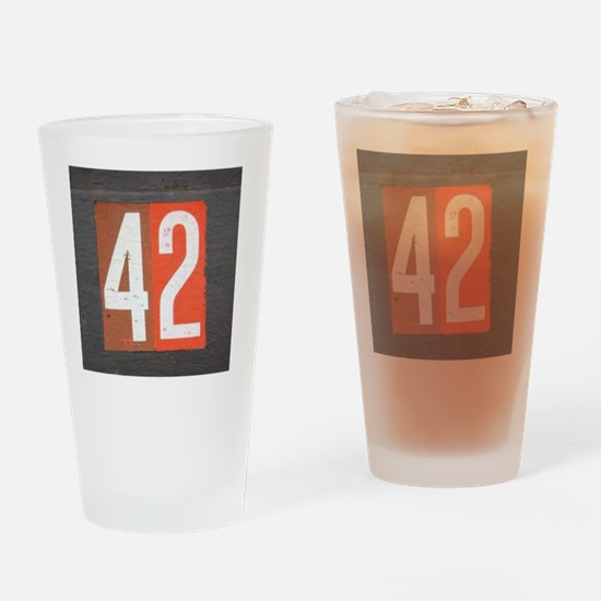 42 Drinking Glass