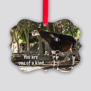 One of a kind Picture Ornament