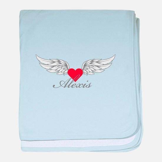 Angel Wings Alexis baby blanket