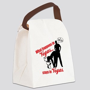 Vegas Canvas Lunch Bag