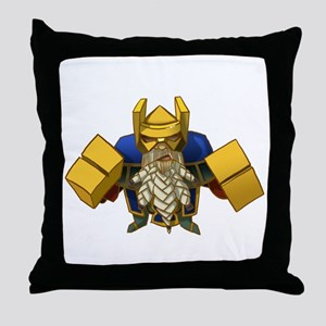 2-smith Throw Pillow