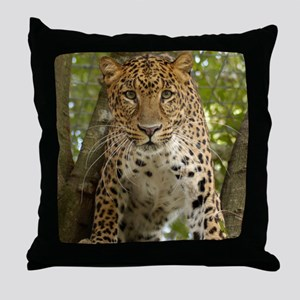 LeopardCheetaro003 Throw Pillow