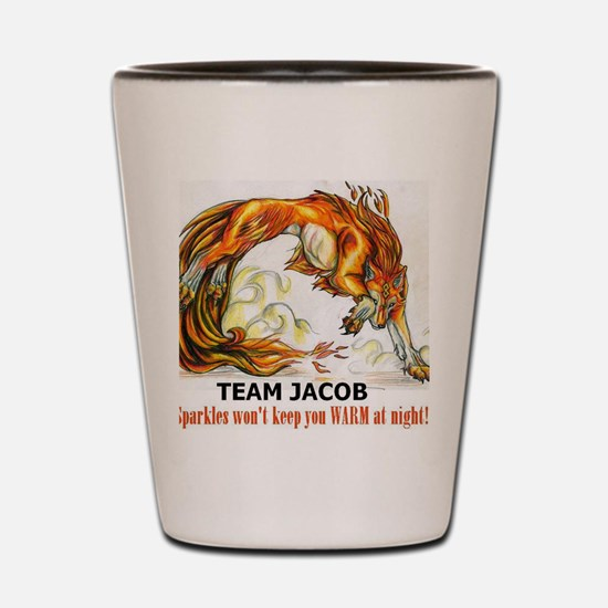 TEAM JACOB Shot Glass